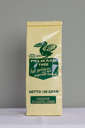 Sencha (groene thee) met sinaasappel en gember 100 g