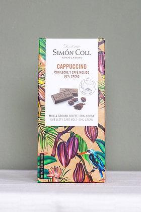 Simón Coll cappuccino chocoladereep 85 g