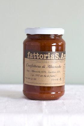 Confettura di Albicocche, 370 ml, abrikozen confiture
