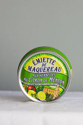 Stukjes Makreel met kruiden en citroen uit Menton 115 g