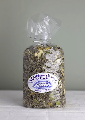 Sel Spécial Poissons et Crustacés de l'Île de Ré 250 g