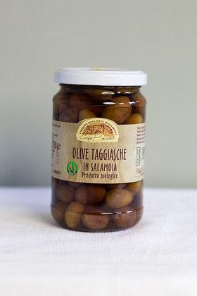 Biologische Taggiasca olijven (Vegan oké), 190 gr (heb juitgelekt)