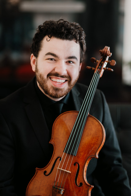 Laurence Schaufele, violin (and viola!)
