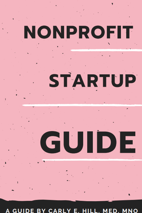 Nonprofit Start Up Guide