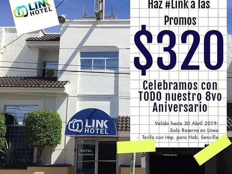 ¡8 años de Link Hotel!