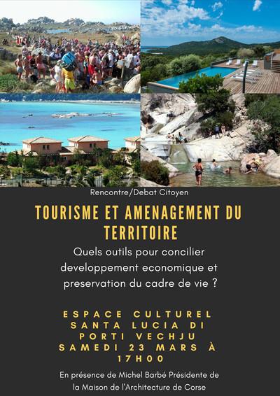 Tourisme et amenagement du territoire