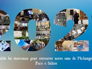 La Maison de l'Architecture de Corse vous souhaite une bonne année 2021 !