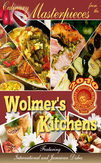 "In This Issue  Featured Recipe   Exciting Wolmer's Recipe Book Offer  50 Traditional Jamaican Recipes  Jamaica's National Dish  Quick Links  Wolmer's NY Alumni   School History   More On Us - Wolmer's.info  Wolmer's South Florida Alumni  Wolmer's Store   Wolmer's Champs 100 Victory - Read More  Featured Recipe  Wolmer's serves the victory menu at the Centenary Hiigh School Athletic Championships ""CHAMPS"" 2010. See our winning recipe on pages 6-7 of our recipe book, submitted by Wolmerian Dr. Justin Peart. 	Exciting Wolmer's Recipe Book Offer Making a contribution to Wolmer's has never been easier, more convenient, or more sustainable!  Give the gift that keeps on giving for years to come.  Support our Recipe Book Fundraiser. The international body of Wolmer's alumni has published a commemorative, keepsake recipe book as a major, sustainable fundraising initiative for our school.  The Wolmer's School is the oldest high school in Jamaica and the West Indies.  Read More - School History.   This collection features 200 taste-tempting and delectable recipes from our very own Wolmer's family kitchens. It includes many international favorites, award winning recipes and also showcases over 50 traditional Jamaican dishes lovingly passed down through many generations of Jamaicans. 	         USD $20.00+$5.00 Shipping & Handling  In addition we offer 24 pages of quality ""Cooking and Helpful Hints"" as an important and practical extra, designed to add value to your cooking experience. Have you ever tried to figure out  ways in which you could give to Wolmer's?  Well your search is over!  Introducing an easy, convenient and sustainable way to give, using the wolmersnyalumni.org web based portal - a safe and secure way to give.  Every purchase you  make generates dollars for profit.  You will also treasure the prized recipes, photos, history and traditions of our schools that are preserved in this keepsake cookbook and take pride in knowing that your contribution has made a difference.  Many needy and current special projects such as the refurbishing of the science lab and the joint Penn Relay 2012 Track Team will be funded by this initiative.  100% of the profits will benefit the Wolmer's Boys', Girls' and Prep Schools.  Show your love.  Give something back to Wolmer's today.   Buy Now     	   	 	 Over 50Traditional Jamaican Recipes Do you know how to really ""cook Jamaican?"" We will teach you.  Let us take you back to the organic, natural roots of  Jamaican culinary tradition.  Learn how to ""cook Jamaican"" from our 50 plus, easy to follow, tried and true authentic Jamaican recipes.  Remember ""Codfish Fritters"" or ""Manish Water?""  How about ""Mackerel Rundown"" or ""Easter Bun?""  Hope you are salivating by now.  Do you know how to make any of these?  Keep in touch with the art of Jamaican cooking.  Pass these on to the ""younger generation"" to keep the richness and breadth of our culinary heritage alive, whilst at the same time giving to Wolmer's.  These recipe books make great gifts for birthdays, graduations, showers and any other special occasion.  Buy Now.          USD $20.00+$5.00 Shipping & Handling   Jamaica's National Dish - Ackee & Saltfish  Did you know that Jamaica's National Dish - Ackee & Saltfish  is ranked #2 on National Geographic's Top 10 National Dishes recognized around the world?  Do you know how to make Ackee & Saltfish?  Learn from our simple step by step recipe on Page 98 of our recipe book.  ""Most countries have a favorite or national dish. Popular with residents and forming part of a country's identity, they are an essential experience for visitors"" -  National Geographic.   Jamaica has been bestowed the honor of having its National Dish - Ackee & Saltfish ranked #2 on National Geographic's list of Top 10 National Dishes recognized around the world.   We are proud to present the recipe for Ackee & Saltfish on page 98 of our recipe book.          Our Motto:""AGE QUOD AGIS"" - ""WHATEVER YOU DO, DO IT WELL"""