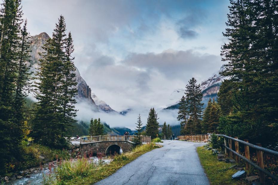 The Bridge (Lake Louise)