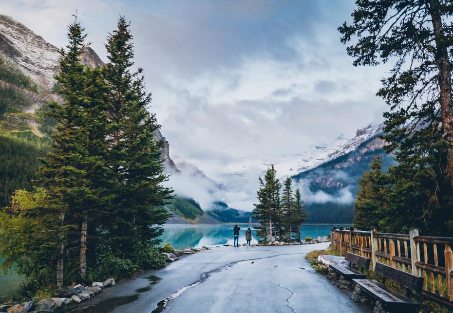 The Pathway (Lake Louise)