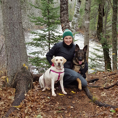 CPDT-KA, certified dog trainer, Laska Parrow