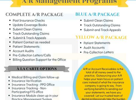 Our New Division, Dental AR Management