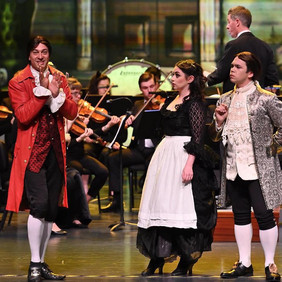 Basilio with Australian International Opera's China Tour, 2019.