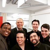 With Bo Skovhus and the Hamburg Staatsoper young artists.