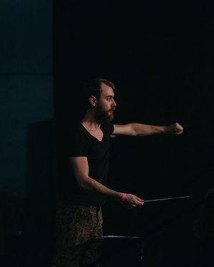 Conductor Evan Lawson