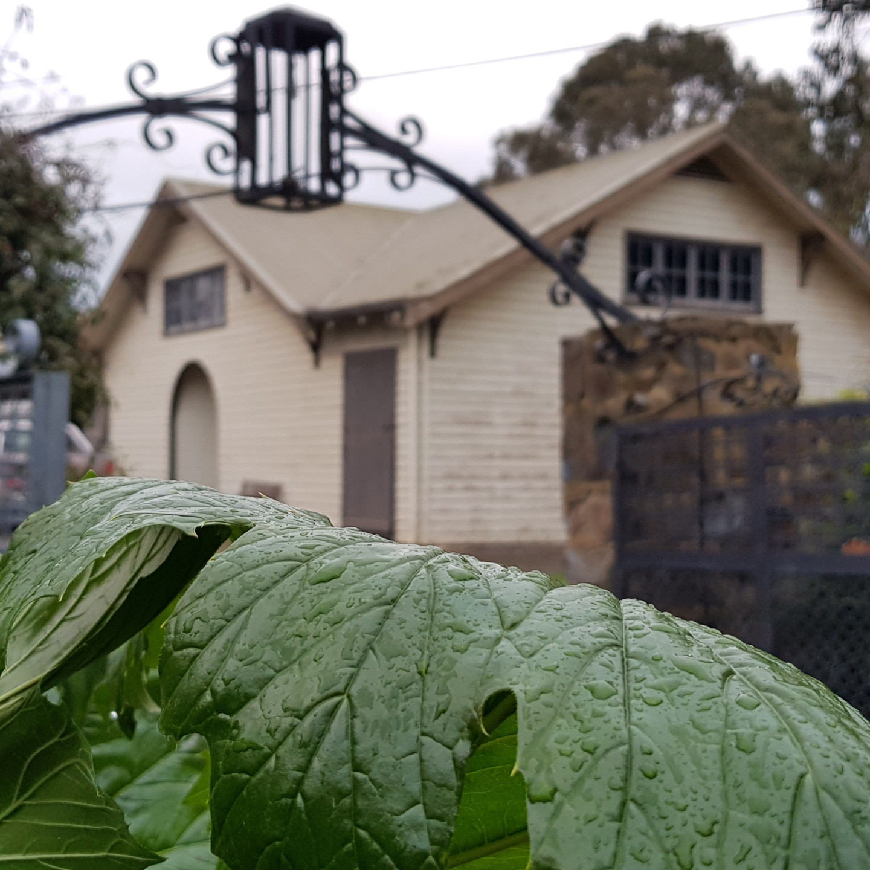 The homestead at Olinda Yarra, Yering.