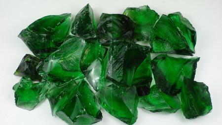 Glas Grün