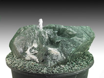 Modell natürliche Cascaden/Bachlauf