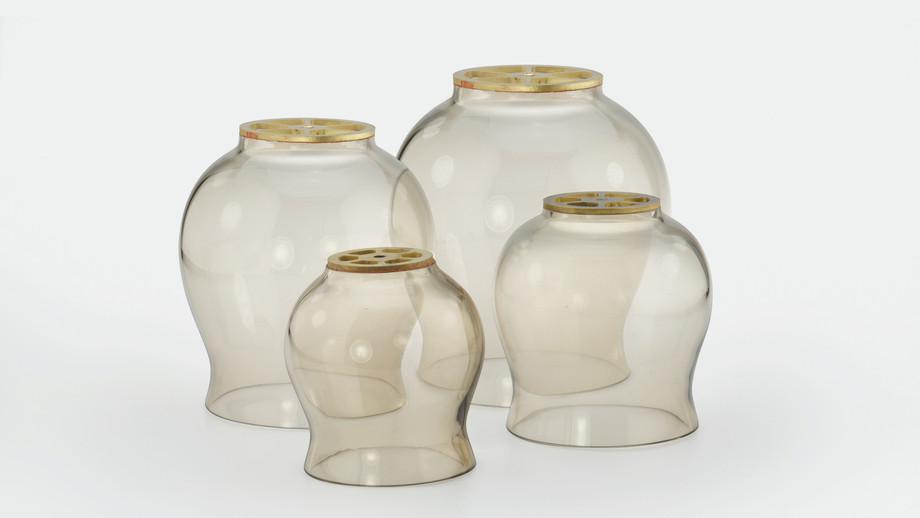 Lampenglas (gewölbt)