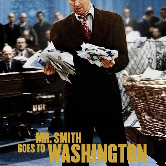 Save The Filibuster! Mr. Smith Goes to Washington Watch Party
