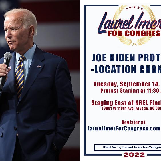 Joe Biden Protest Golden, CO