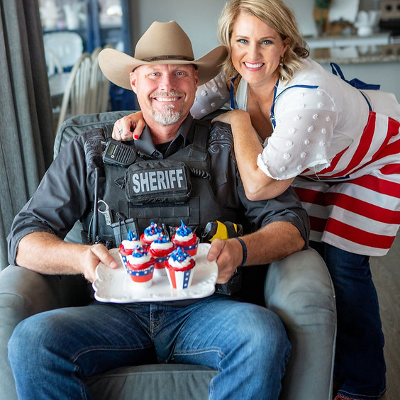 Postponed: An Intimate Evening with Border Sheriff Mark Lamb and his Wife, Janel