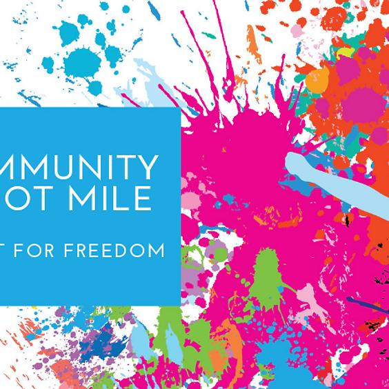 Mountain Community Barefoot Mile