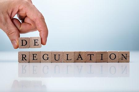 Hand Holding De Near Regulation Word. De