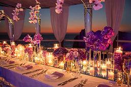 Dinner table set up.JPG