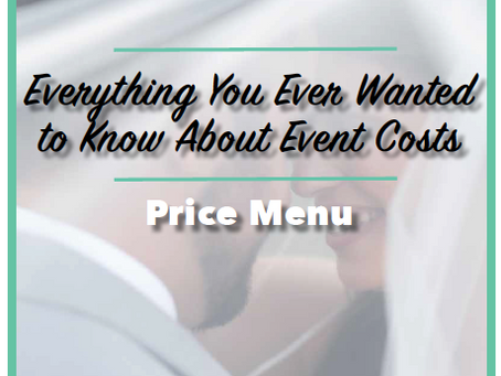 How Much Will My Event Cost Me?