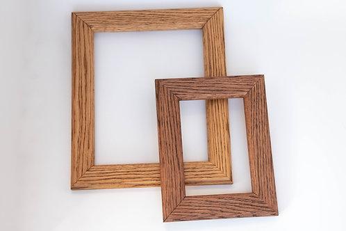 Hanging Oak Picture Frames