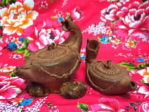 大小紅龜壺