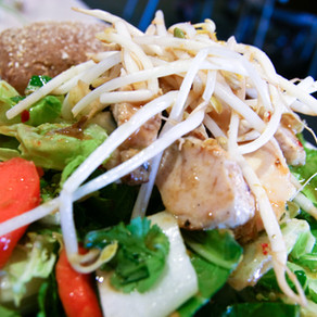Hawaiian Chicken Lettuce Wraps Recipe