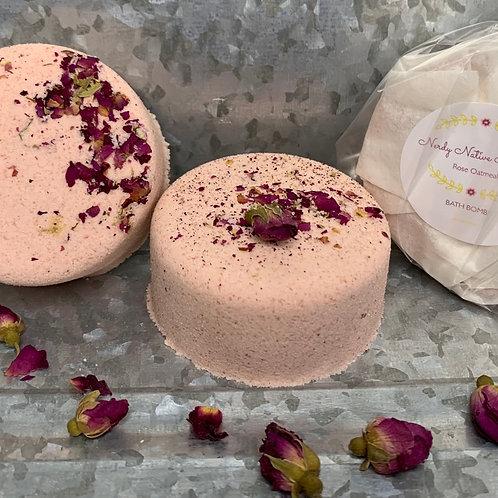 Rose Oatmeal Bath Bomb