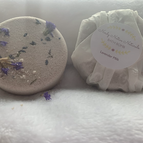 Lavender Milk Bombs