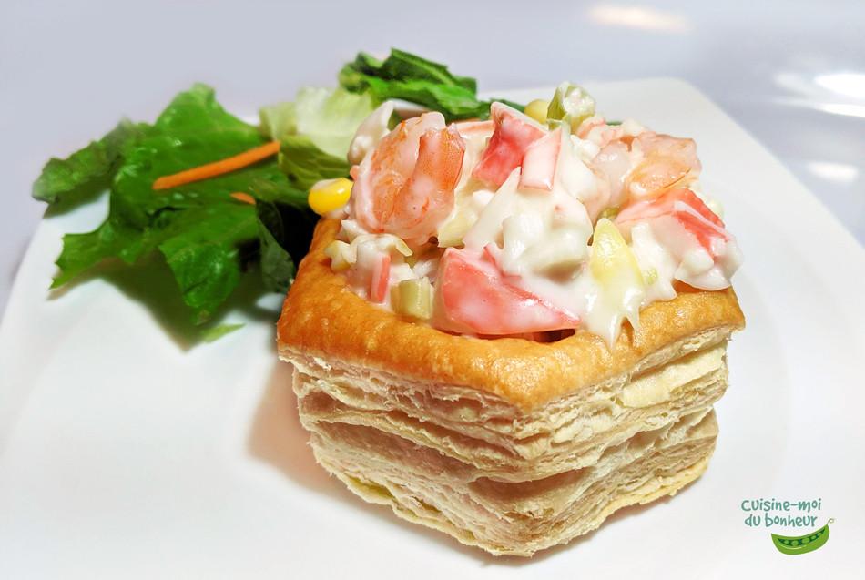 Délicieuse sauce aux fruits de mer