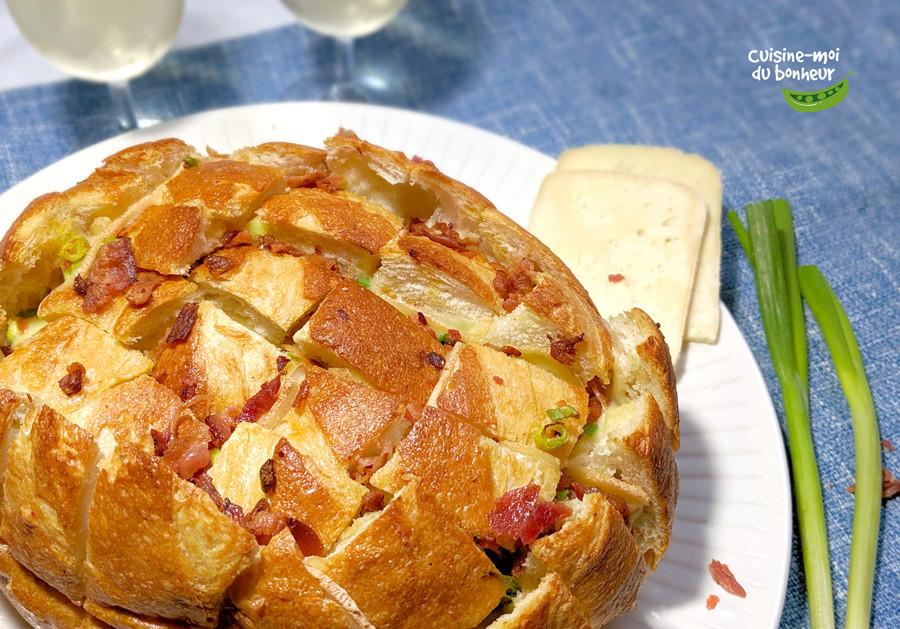 La miche de pain hérisson, l'entrée qui fera la bonheur de tous