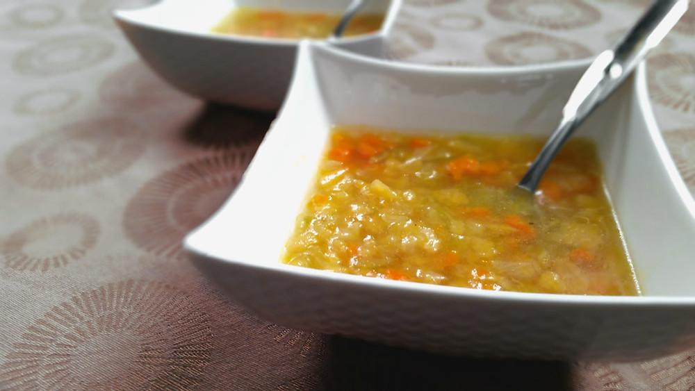 Soupe aux légumes de grand-maman