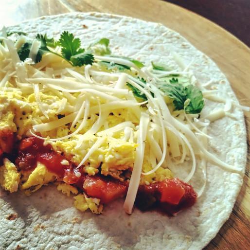 Burrito aux oeufs