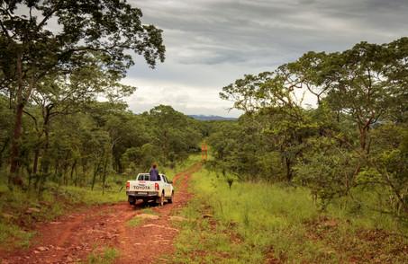 kundelungu national park, democratic republic of the congo