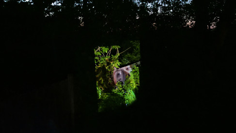 image projection, mask