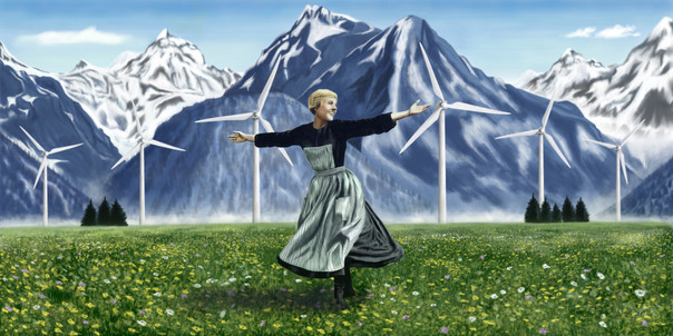 The Hills Are Alive With The Sound Of Turbines