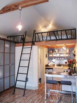 Garage convert to gust house