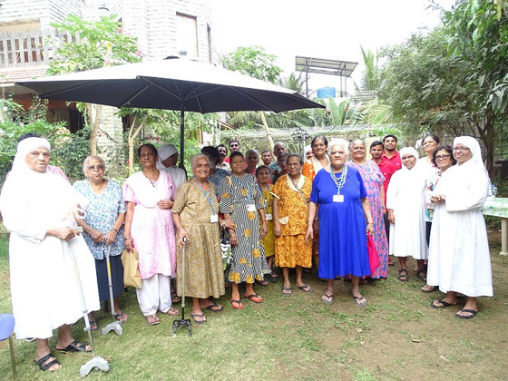 Innovative Birthday Celebrations of         the elderly at Little Sisters in                      Mu