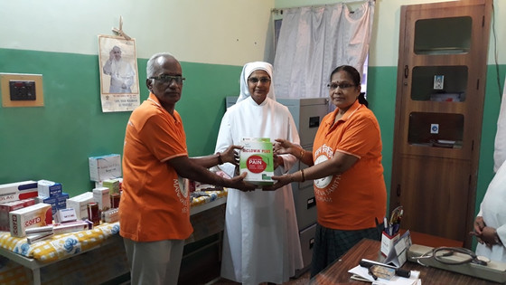 """""""Oneness Club"""" at the Little Sisters of the Poor in Erode!"""