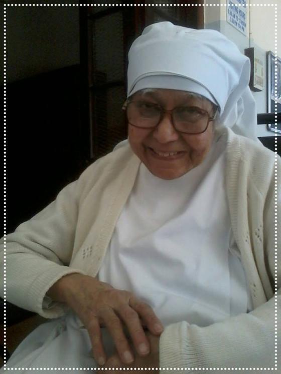 A loving tribute to a Saint who walked with us!                                  Sr Helene de Ste. C