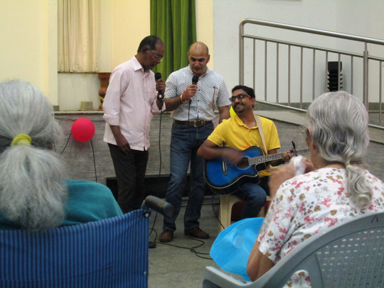Heartbeat Band at  Bangalore              Perpetual Secours!