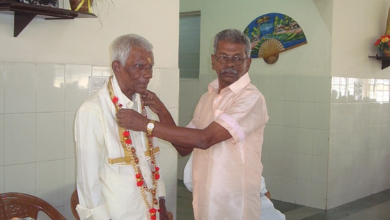 Mr Sidhanandan's 25 years of presence in the Home of Chennai!