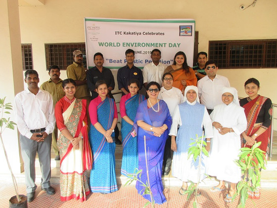 ITC Kakatiya celebrates                WORLD ENVIRONMENT DAY              at the Little Sisters of t