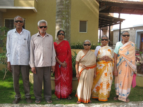 Loving service to our elderly Residents by Sankara Eye Hospital!